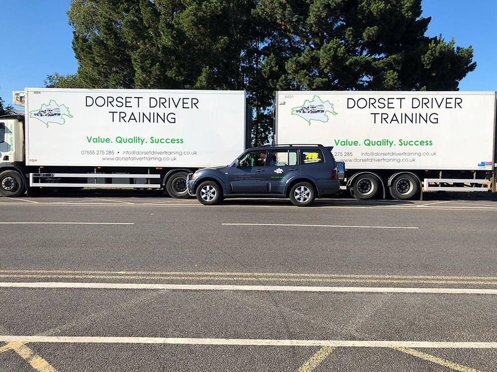 Truck and Trailer Driver Training Bournemouth
